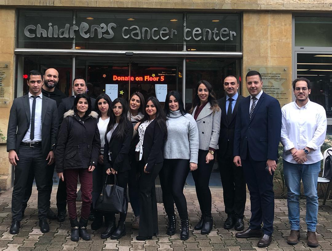 Lancaster Hotel Chain visited the Children's Cancer Center