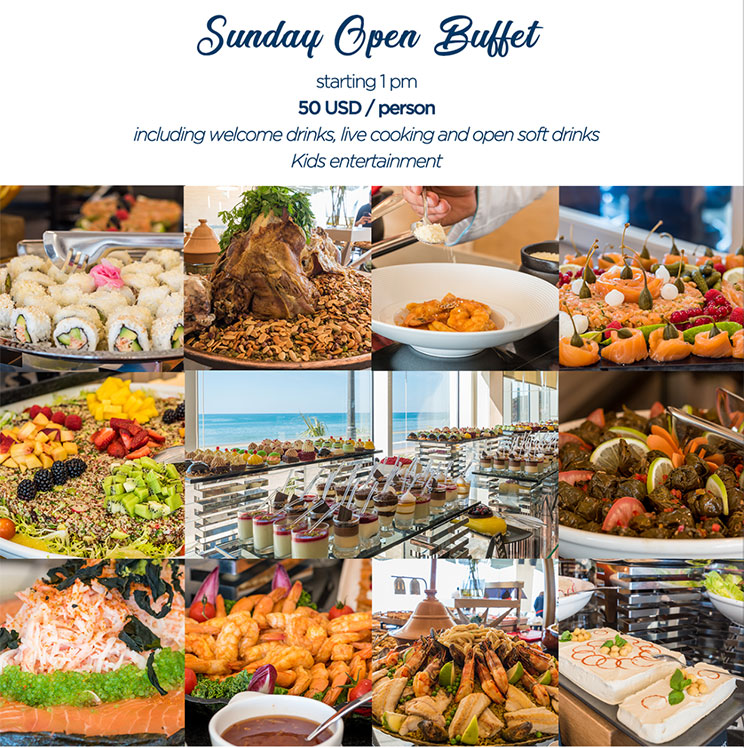 Sunday Open Buffet